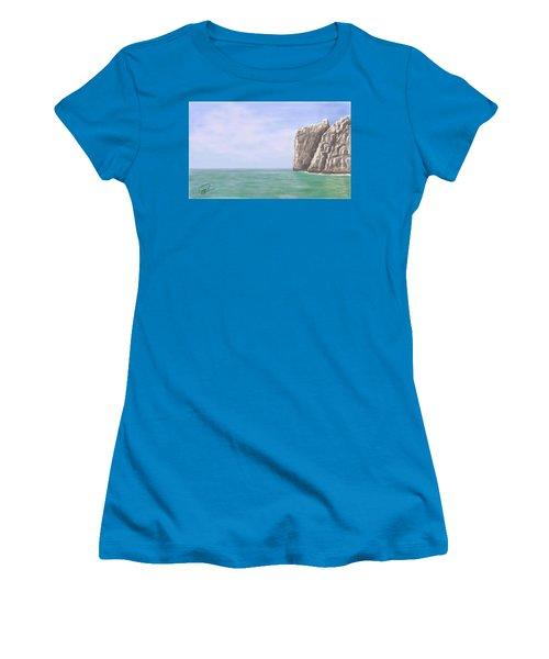 Aqua Sea Women's T-Shirt (Athletic Fit)