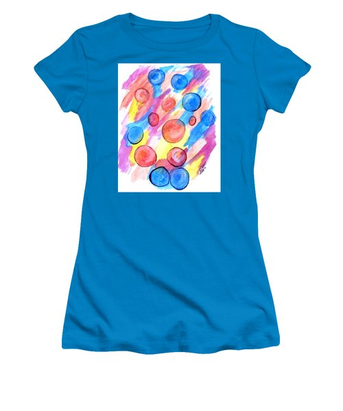 Art Doodle No. 25 Women's T-Shirt (Athletic Fit)