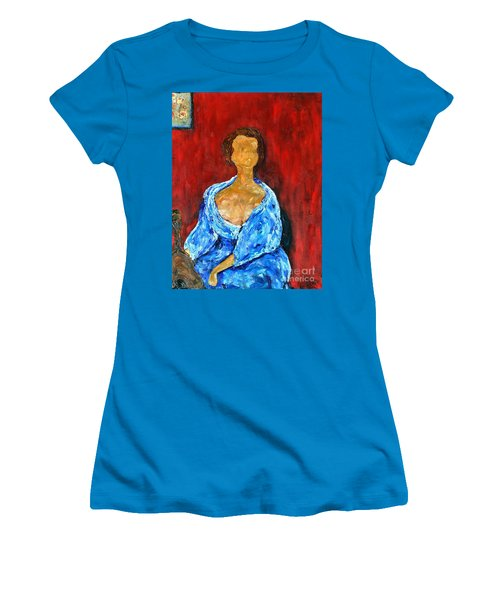 Art Study Women's T-Shirt (Junior Cut) by Reina Resto
