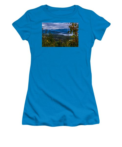 Autumn At Priest Lake Women's T-Shirt (Junior Cut) by Yeates Photography