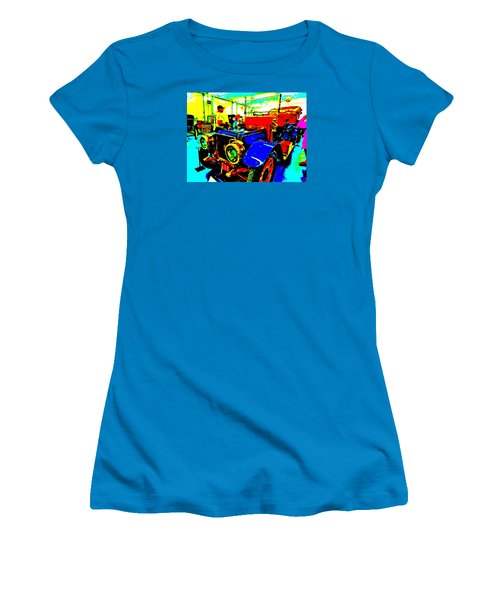 Bahre Car Show II 1 Women's T-Shirt (Junior Cut) by George Ramos