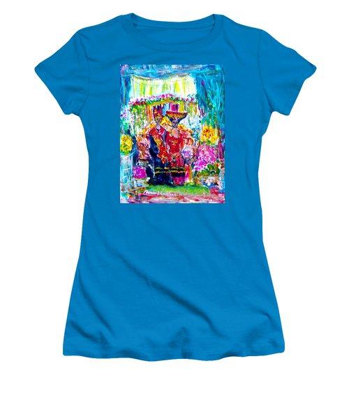 Batak Weding Women's T-Shirt (Athletic Fit)