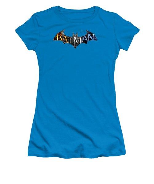 Batman  Women's T-Shirt (Junior Cut) by Herb Strobino