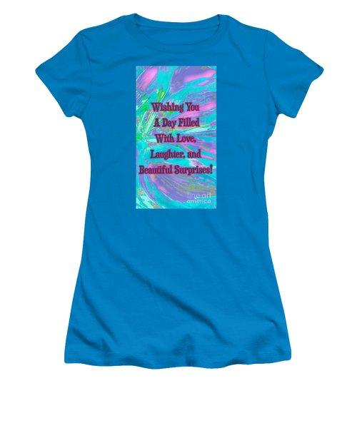Beautiful Surprises Women's T-Shirt (Athletic Fit)