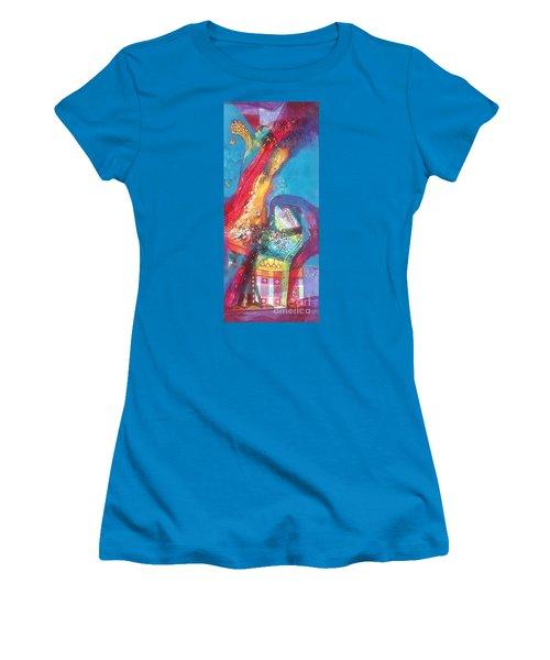 beauty of nature XII Women's T-Shirt (Junior Cut) by Sanjay Punekar
