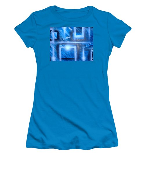 Big Blue II Women's T-Shirt (Athletic Fit)