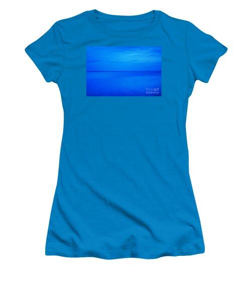 Blue Ocean Twilight Women's T-Shirt (Junior Cut) by Randy Steele