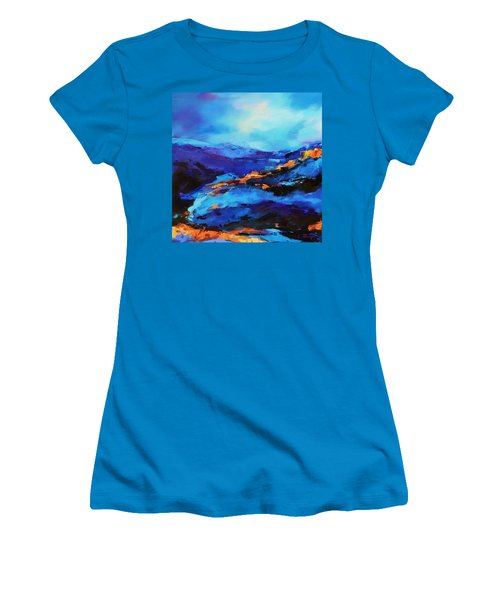 Blue Shades Women's T-Shirt (Athletic Fit)