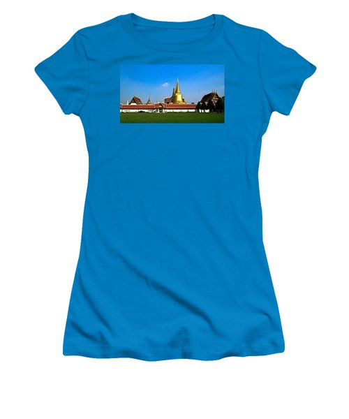 Buddhaist Temple Women's T-Shirt (Athletic Fit)
