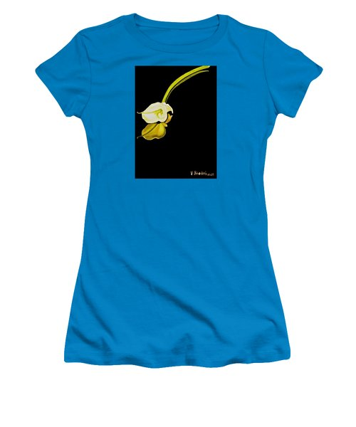 Calla Lily Reflection Women's T-Shirt (Athletic Fit)