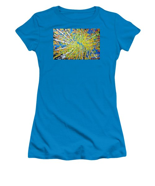 Calming Canopy Women's T-Shirt (Athletic Fit)