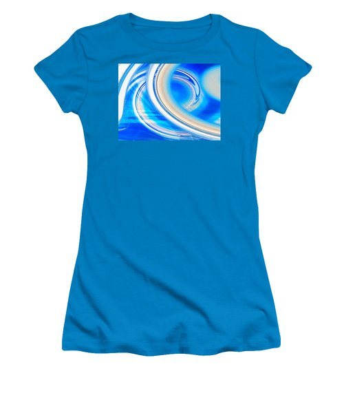 Women's T-Shirt (Junior Cut) featuring the photograph Celestial Rings by Shawna Rowe