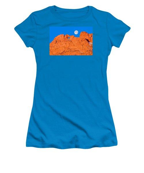 Chang-o, The Chinese Moon Goddess  Women's T-Shirt (Junior Cut) by Bijan Pirnia