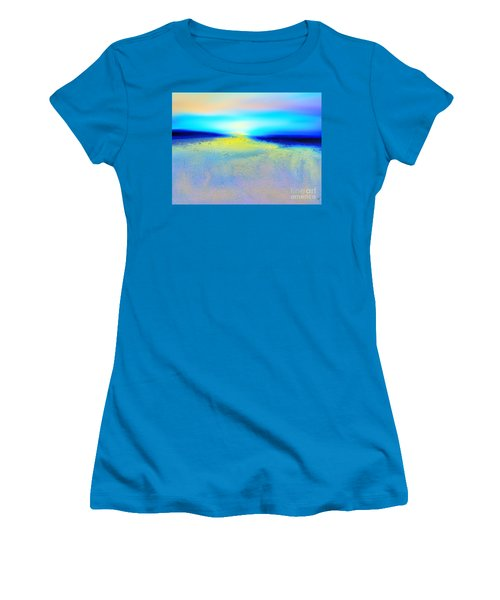 Chasing The Sun  Women's T-Shirt (Junior Cut) by Yul Olaivar