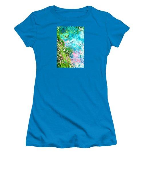 Colorful Art - Enchanting Spring - Sharon Cummings Women's T-Shirt (Junior Cut) by Sharon Cummings