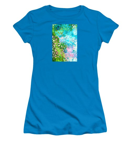 Colorful Art - Enchanting Spring - Sharon Cummings Women's T-Shirt (Athletic Fit)