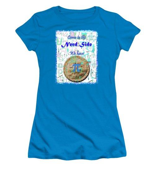 Come To The Nerd Side Women's T-Shirt (Junior Cut) by Michele Avanti