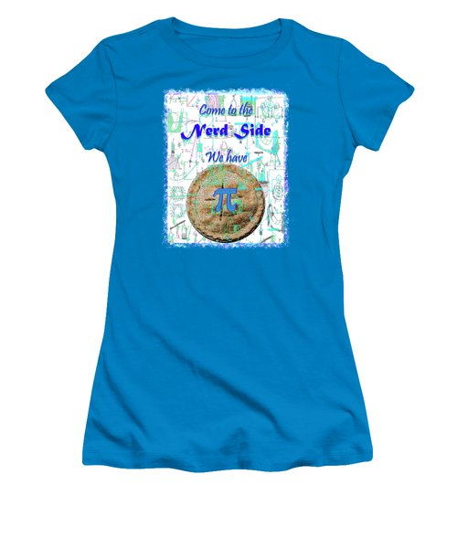Come To The Nerd Side Women's T-Shirt (Athletic Fit)