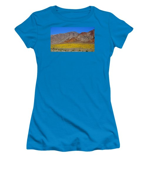 Death Valley Superbloom Women's T-Shirt (Athletic Fit)