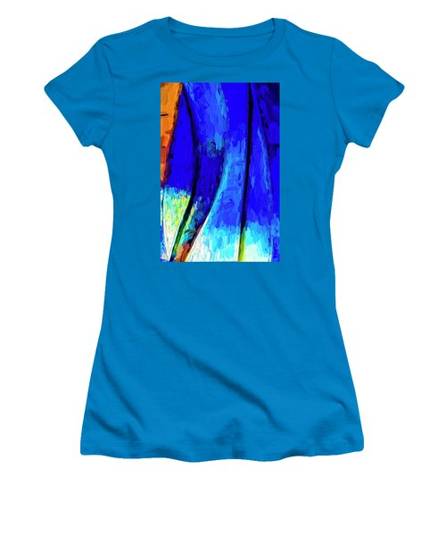 Women's T-Shirt (Junior Cut) featuring the photograph Desert Sky 2 by Paul Wear