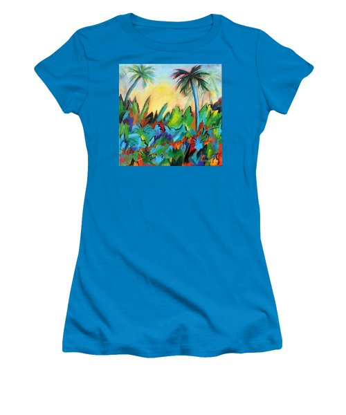Drawn By The Color Women's T-Shirt (Junior Cut) by Elizabeth Fontaine-Barr