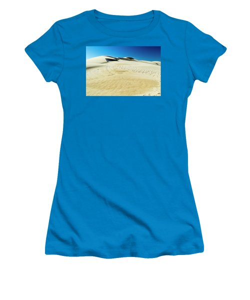 Women's T-Shirt (Athletic Fit) featuring the photograph Drifting Away by Angela DeFrias