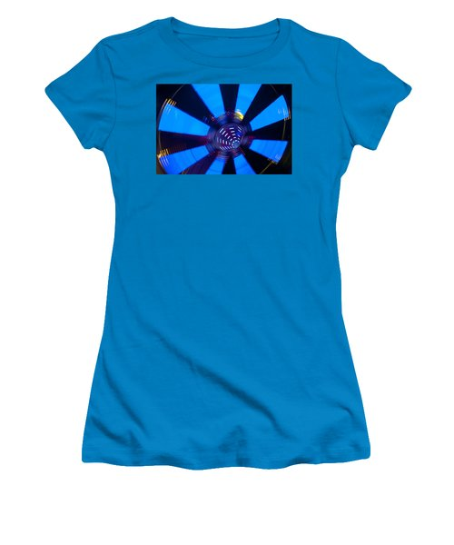 Fairground Abstract Vi Women's T-Shirt (Athletic Fit)