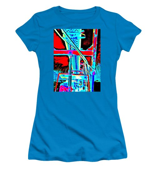 Feb 2016 36 Women's T-Shirt (Junior Cut) by George Ramos
