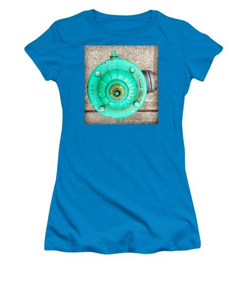 Fire Hydrant #6 Women's T-Shirt (Junior Cut) by Suzanne Lorenz