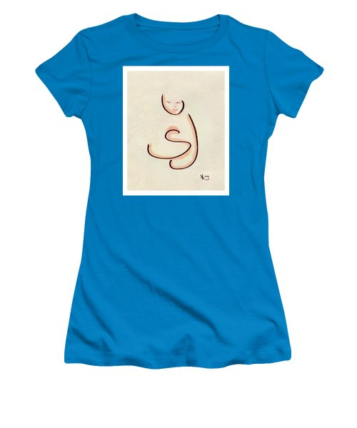 First Hug Women's T-Shirt (Athletic Fit)