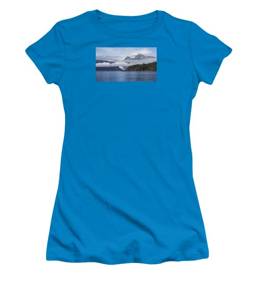 Fishing In Southeast Alaska Women's T-Shirt (Junior Cut) by Michele Cornelius