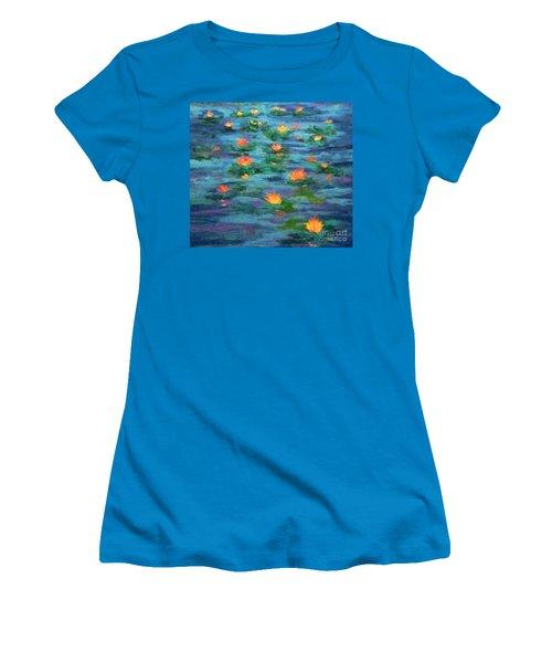 Floating Gems Women's T-Shirt (Junior Cut) by Holly Martinson