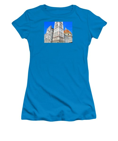 Florence Duomo Cathedral Women's T-Shirt (Junior Cut) by Lisa Boyd
