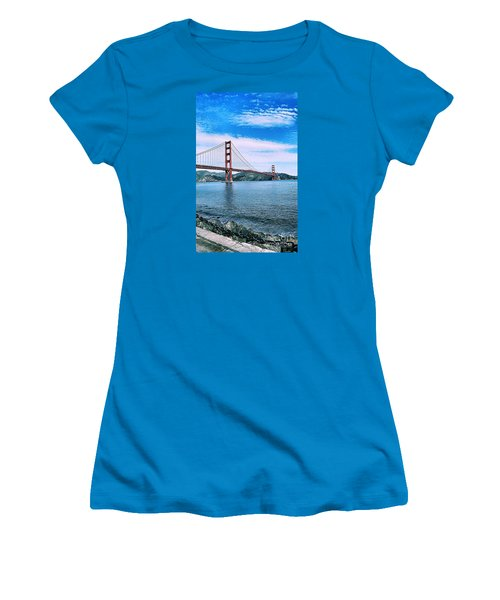 Fort Point Women's T-Shirt (Athletic Fit)