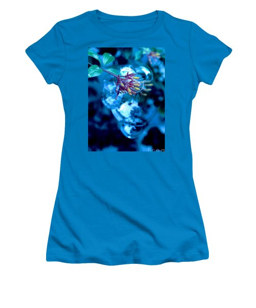 Women's T-Shirt (Junior Cut) featuring the photograph Frozen In Time by Irma BACKELANT GALLERIES