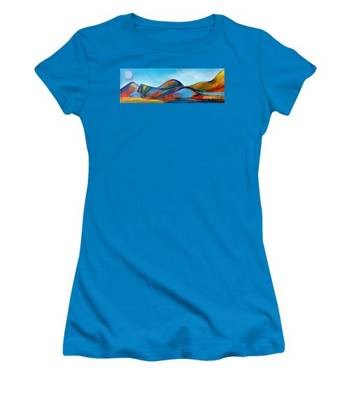 Galaxyscape Women's T-Shirt (Athletic Fit)