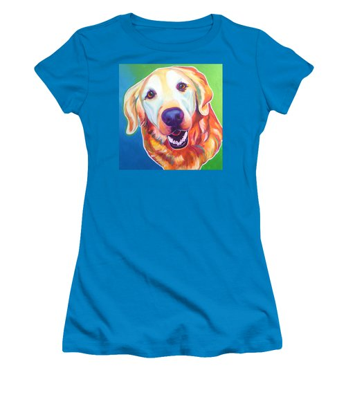 Golden Retriever - Daisy Mae Women's T-Shirt (Athletic Fit)