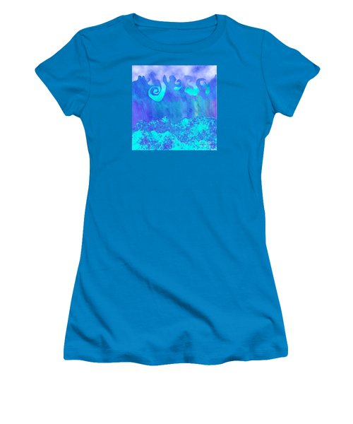 Grace Of Rain Women's T-Shirt (Athletic Fit)