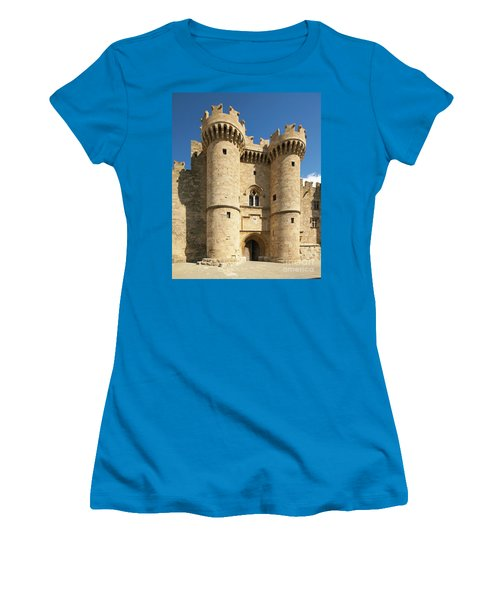 Grandmaster Palace Rhodes Island Greece 1 Women's T-Shirt (Athletic Fit)