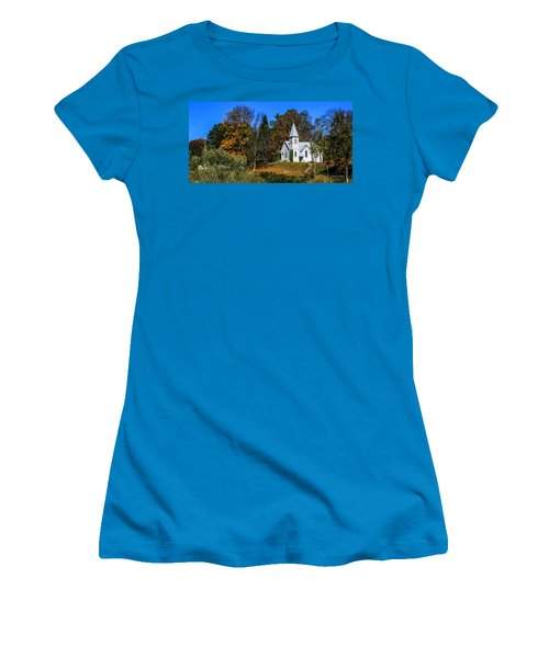 Grassy Creek Methodist Church Women's T-Shirt (Athletic Fit)