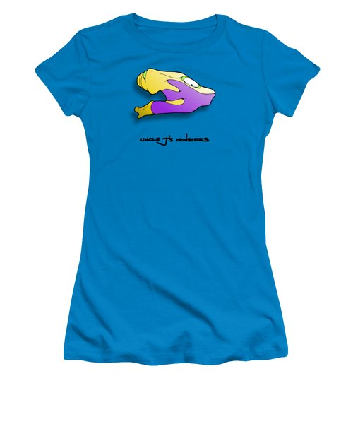 Gro Women's T-Shirt (Junior Cut) by Uncle J's Monsters