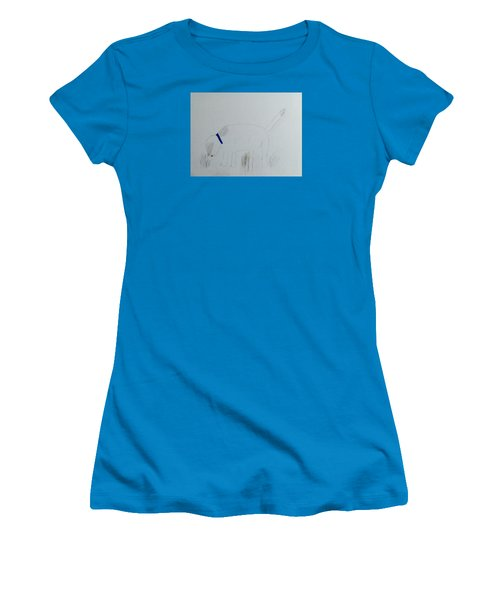 Here Boy Women's T-Shirt (Junior Cut) by Alohi Fujimoto