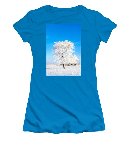 Hoar Frost Women's T-Shirt (Athletic Fit)