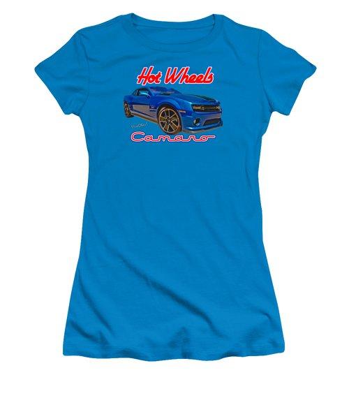 Hot Wheels Camaro Women's T-Shirt (Athletic Fit)