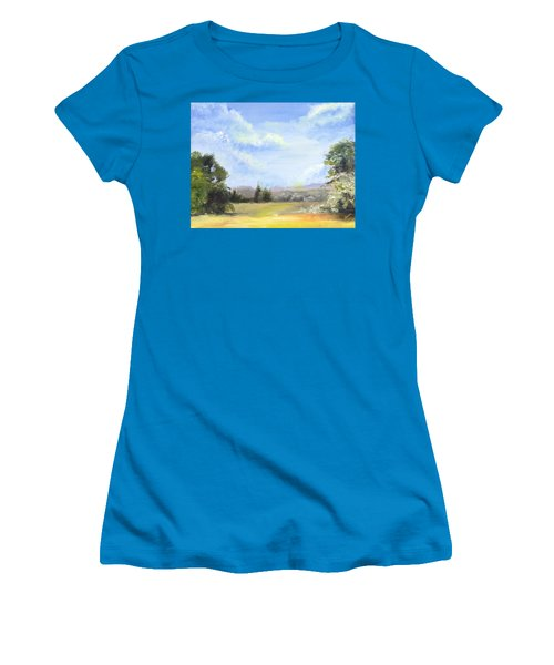 Lapoint Utah Women's T-Shirt (Junior Cut) by Jane Autry