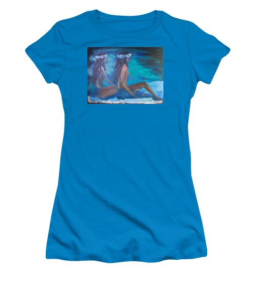Le Hawaiane  Women's T-Shirt (Athletic Fit)