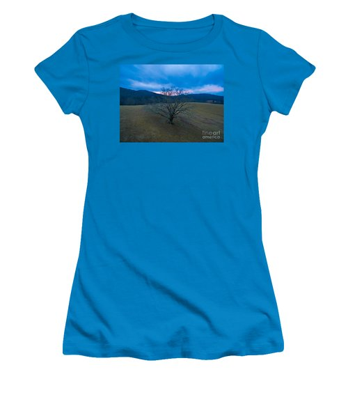Majestical Tree Women's T-Shirt (Junior Cut) by Robert Loe