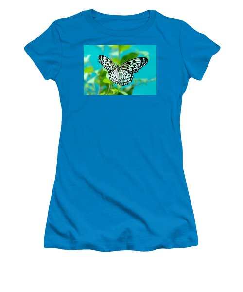 Women's T-Shirt (Athletic Fit) featuring the photograph Mangrove Tree Nymph by Jenny Rainbow
