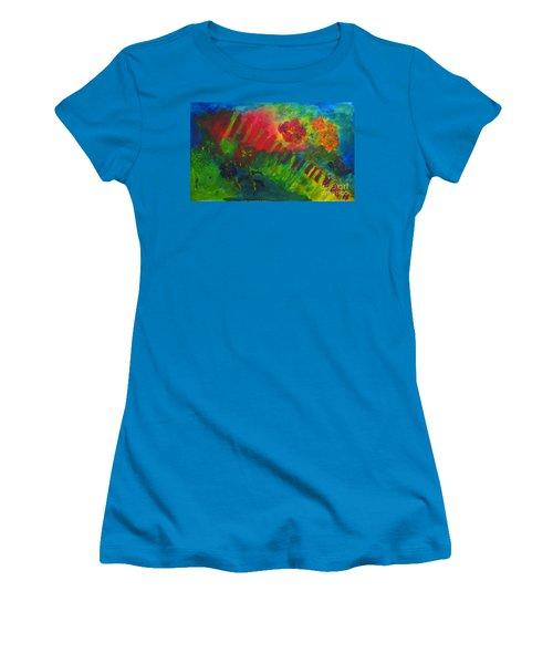 Midcity Magic Women's T-Shirt (Athletic Fit)