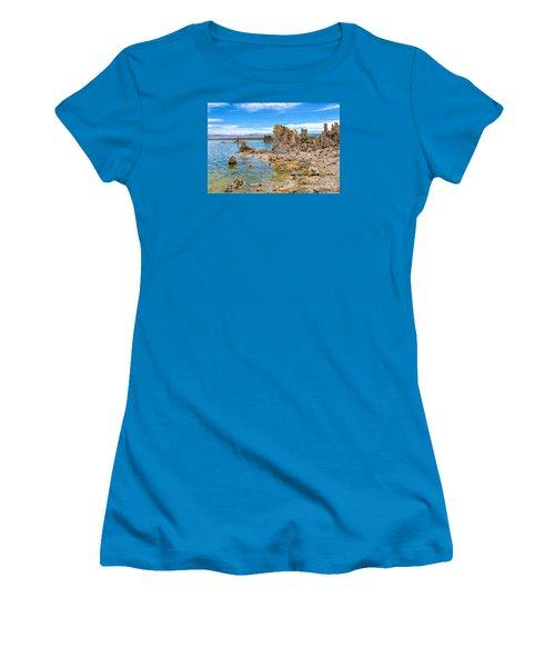 Mono Lake Women's T-Shirt (Athletic Fit)